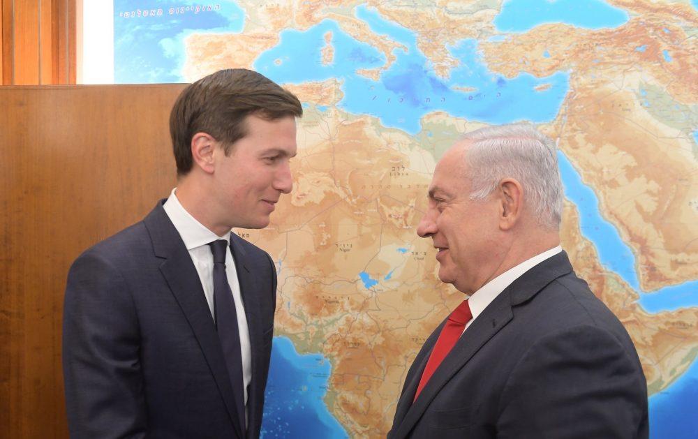 Netanjahu megköszönte Kushner és Greenblatt közreműködését a diplomáciai kapcsolatok rendezésébenJordániával