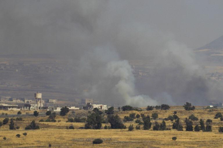 Lövedék Szíriából