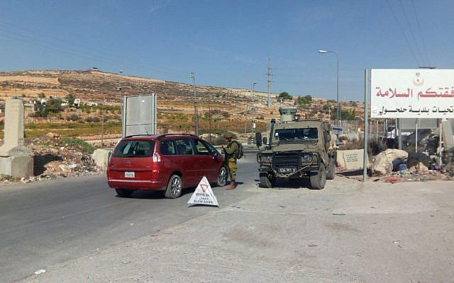 A hadsereg ellenörzőpontokat állított fel a gázolásos merénylő falujakörül