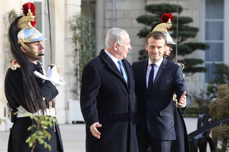 Netanjahu Macronnal tárgyalt telefonon az iráni nukleárismegállapodásról