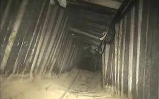 A hadsereg megsemmisített egy izraeli és egyiptomi területre is átnyúló Hamásztámadóalagutat