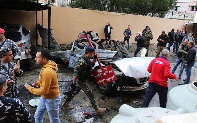 Megsérült egy hamászos Libanonban, felrobbant azautója