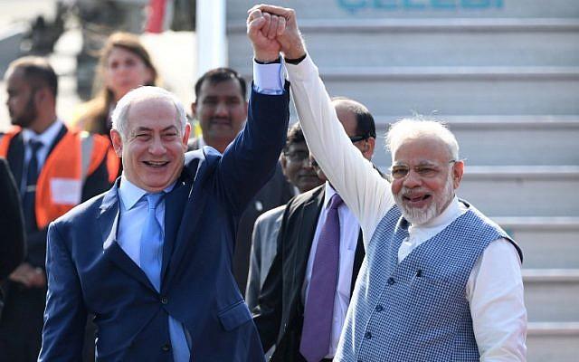 Shalom & Namaste – Netanjahu megérkezettIndiába