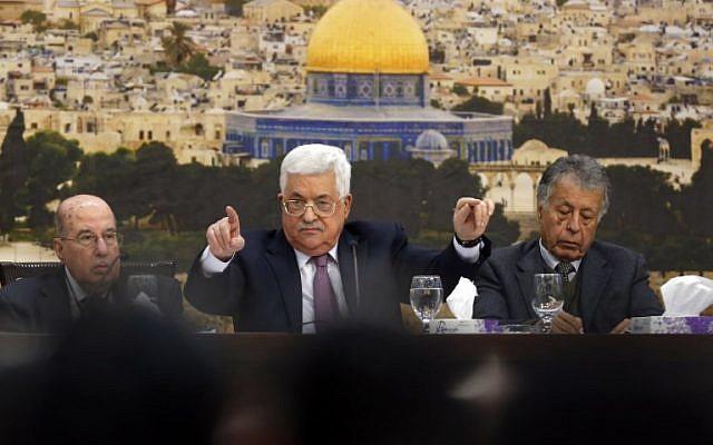 Abbász: Friedman amerikai nagykövet egy gazember telepes; a Hamász megpróbálta megölni Hamdallah miniszterelnököt