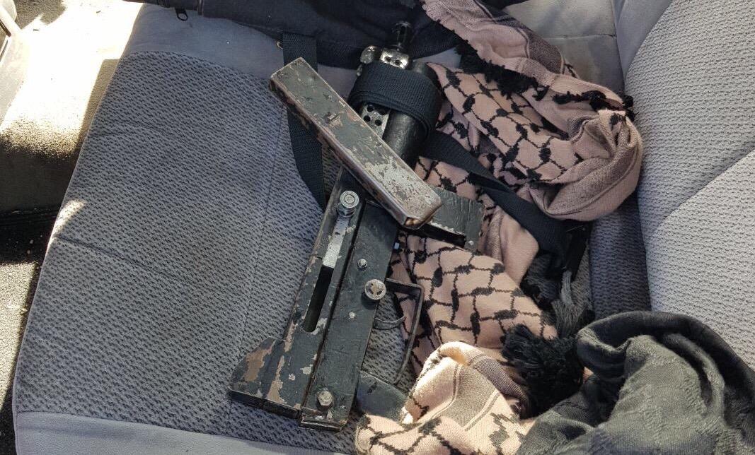 A rendőrség letartóztatott 3 palesztint Ma'ale Adumim közelében, fegyver és lőszer voltnáluk