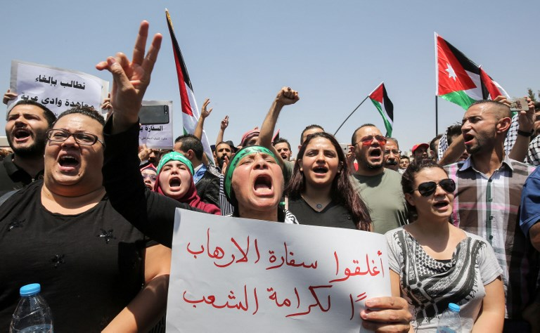 Izrael és Jordánia megállapodásra jutott, az izraeli nagykövetség Ammanban ismétkinyithat