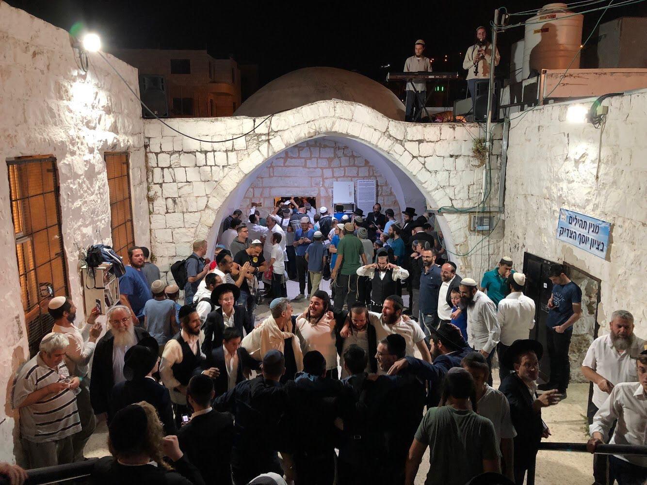 1200 zsidó imádkozott József sírjánál